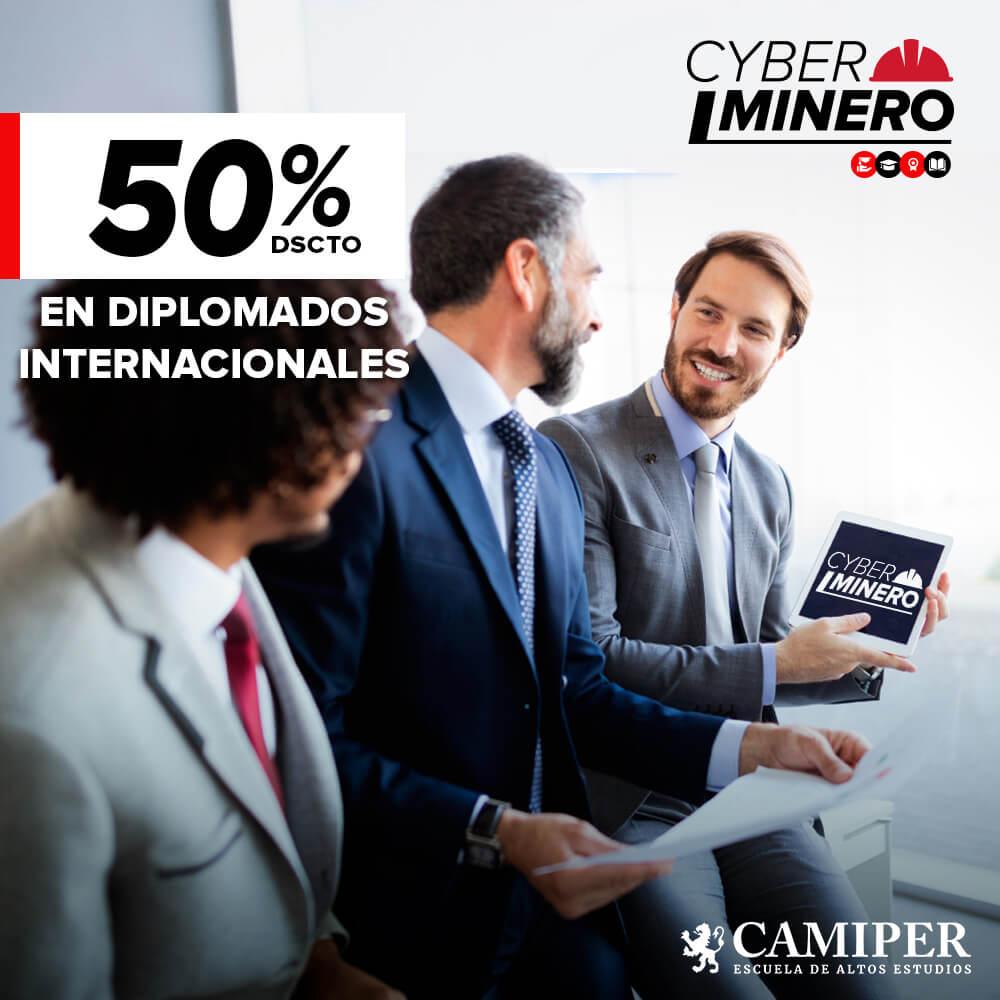 Cyber Minero CAMIPER: postgrados hasta con 50% de descuento