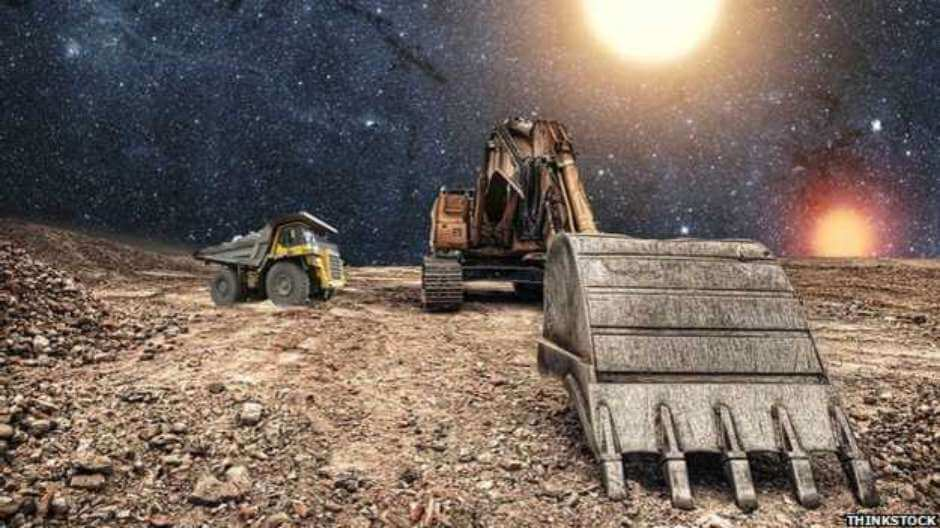 Minería en el espacio: experimentan con microbios en rocas planetarias