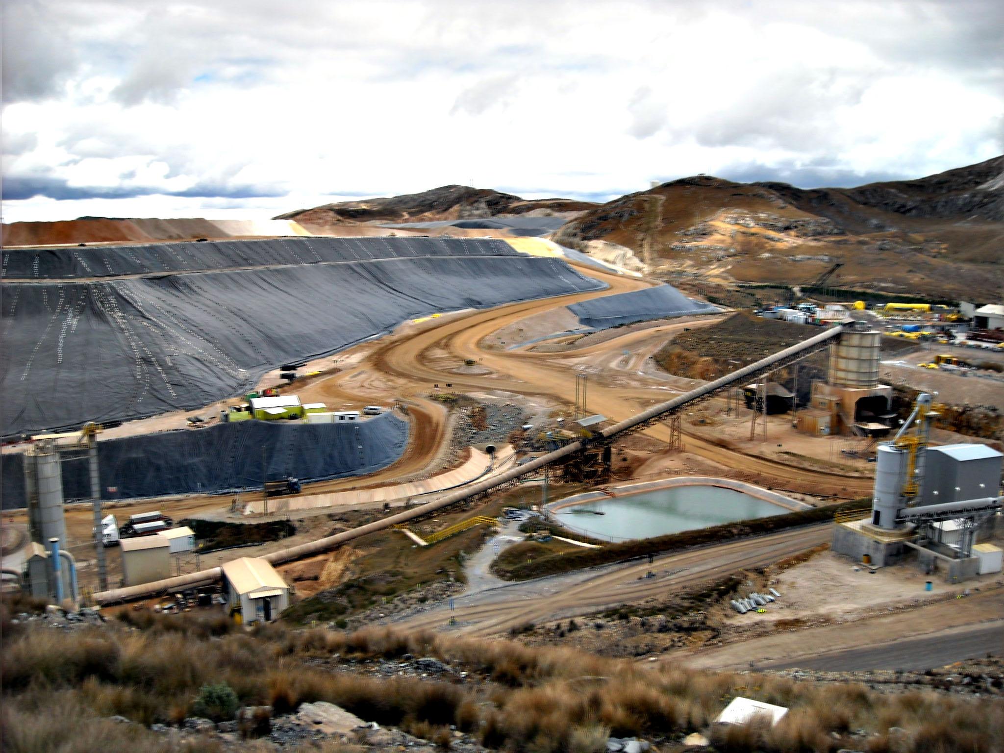 Por este plan Barrick Gold detuvo producción en Lagunas Norte