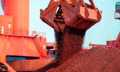 El mineral de hierro será principal producto de exportación en Brasil