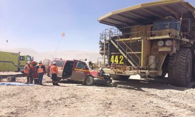 Accidentes en faenas mineras